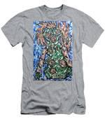 Mayan Snake King Missing Dynasties Men's T-Shirt (Athletic Fit)