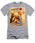 Mechanic On Duty Men's T-Shirt (Athletic Fit)