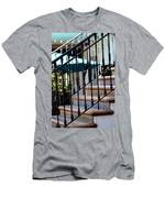 Mosaic Tile Staircase In La Quinta California Art District Men's T-Shirt (Athletic Fit)
