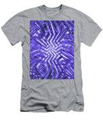Moveonart Blue Shock Men's T-Shirt (Athletic Fit)