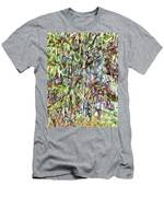 Natural Bamboo Trees Men's T-Shirt (Athletic Fit)