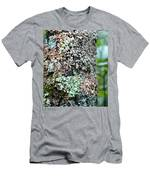 Nature Painted Tree Bark Men's T-Shirt (Athletic Fit)