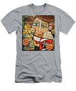 Popcorn Men's T-Shirt (Athletic Fit)