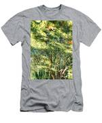 Reflecting Trees On Quiet Pond Men's T-Shirt (Athletic Fit)