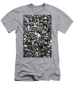 Rocks And Sticks On The Beach Men's T-Shirt (Athletic Fit)