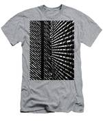 Shadow Pattern No. 208 Men's T-Shirt (Athletic Fit)