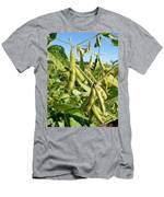 Soybeans In Autumn Men's T-Shirt (Athletic Fit)