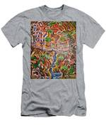 Spanning The Gap Men's T-Shirt (Athletic Fit)