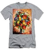 Spring Passion Men's T-Shirt (Athletic Fit)