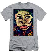Strange Man Color Men's T-Shirt (Athletic Fit)