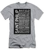 Subway Saint Philip Barbados 1 Men's T-Shirt (Athletic Fit)