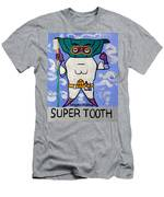 Super Tooth Men's T-Shirt (Athletic Fit)