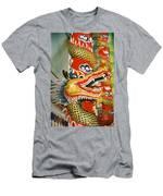 Thai Dragon Men's T-Shirt (Athletic Fit)
