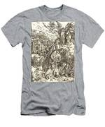 The Angel With The Key To The Bottomless Pit Men's T-Shirt (Athletic Fit)