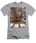 Through The Narrow Path  Men's T-Shirt (Athletic Fit)