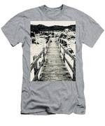 To Heaven   Men's T-Shirt (Athletic Fit)