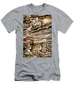 Tree Bark Abstract Men's T-Shirt (Athletic Fit)