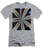 Triple Abstract Men's T-Shirt (Athletic Fit)