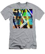 Urban Abstract 123 Men's T-Shirt (Athletic Fit)