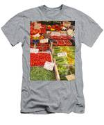 Vegetables At Italian Market Men's T-Shirt (Athletic Fit)