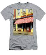 Water Street Cafe Men's T-Shirt (Athletic Fit)