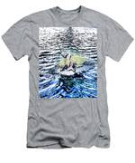 Water Woodwork Men's T-Shirt (Athletic Fit)