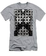 White And Black In My Hands Men's T-Shirt (Athletic Fit)