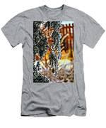 Winter Glow Men's T-Shirt (Athletic Fit)