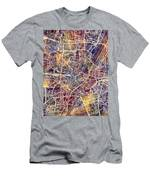Munich Germany City Map Men's T-Shirt (Athletic Fit)
