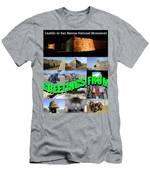 Castillo De San Marcos Custom Card Men's T-Shirt (Athletic Fit)