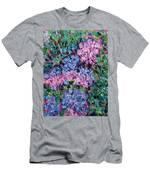 Cozy Hydrangeas Men's T-Shirt (Athletic Fit)
