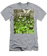 Dark Angel Of The Night Men's T-Shirt (Athletic Fit)