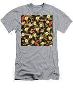 Koi And Lily Pads In Dark Water Men's T-Shirt (Athletic Fit)