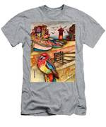 The Venician Bird Men's T-Shirt (Athletic Fit)