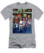 Uncle Bar Men's T-Shirt (Athletic Fit)