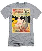 Vintage Poster - Toulouse Lautrec Men's T-Shirt (Athletic Fit)