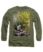 Punk 'do Long Sleeve T-Shirt by Kate Brown