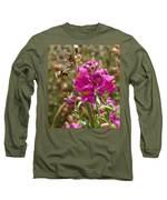 Landing Bumblebee Long Sleeve T-Shirt by Ivana Westin