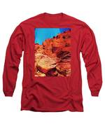 Ascension Long Sleeve T-Shirt by Michelle Dallocchio
