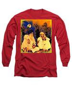 Parents Long Sleeve T-Shirt by Bliss Of Art