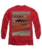 Red Jasper And Dill Seed Alchemy  Long Sleeve T-Shirt by Rachel Hannah
