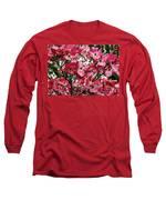Washington State Magnolia Long Sleeve T-Shirt by Mae Wertz