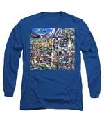 Dissolution Long Sleeve T-Shirt by Robert Thalmeier