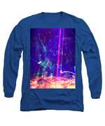 Mezzanotte Long Sleeve T-Shirt by Michelle Dallocchio