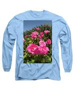 Roses Up To The Sky Long Sleeve T-Shirt by Arik Baltinester