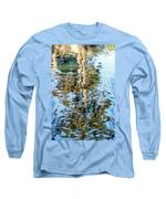 Tree Reflection Abstract Long Sleeve T-Shirt by Kate Brown