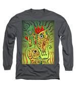 Ancient Spirit Long Sleeve T-Shirt by Sotuland Art