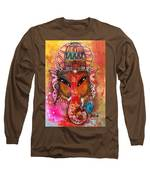 Ganesha Long Sleeve T-Shirt by Prerna Poojara