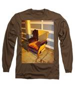 Have A Seat In Dore Alley Long Sleeve T-Shirt by Mr Photojimsf