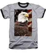 American Freedom Baseball T-Shirt by Dale Kincaid